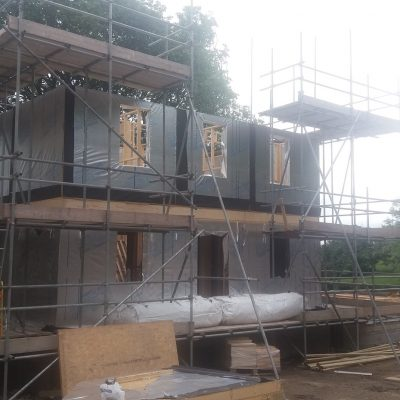 7 timber framed new build dwellings